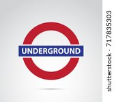Underground Icon Isolated On...
