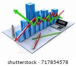 new business plan  tax ... | Shutterstock . vector #717854578