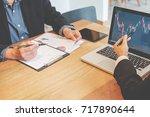 business concept. business... | Shutterstock . vector #717890644