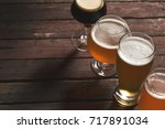 pale  dark  unfiltered pale and ... | Shutterstock . vector #717891034