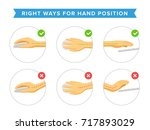 how to use computer mouse and... | Shutterstock .eps vector #717893029