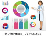 medical infographic elements... | Shutterstock .eps vector #717921538