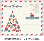Holiday Greeting Card With...