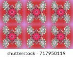 a colored background with... | Shutterstock . vector #717950119