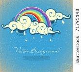 background for design | Shutterstock .eps vector #71795143
