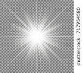 sunlight with lens flare effect