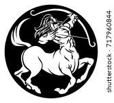a sagittarius archer centaur...