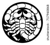 zodiac signs circular scorpio...