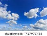 sky clouds | Shutterstock . vector #717971488