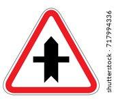 road sign . vector | Shutterstock .eps vector #717994336