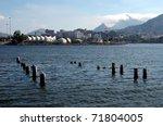 Wharf in Rio de Janeiro - stock photo