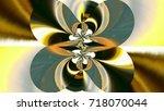 beautiful multicolor...   Shutterstock . vector #718070044