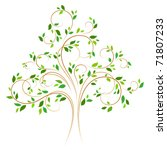 vector tree 4 | Shutterstock .eps vector #71807233