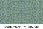 seamless pattern. abstract... | Shutterstock .eps vector #718087630