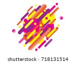 modern abstract background tao... | Shutterstock .eps vector #718131514