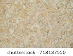 wood chips are pressed together.... | Shutterstock . vector #718137550