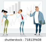 vector illustration of a... | Shutterstock .eps vector #718139608