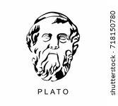 plato illustration | Shutterstock .eps vector #718150780