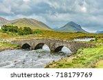 Sligachan Old Bridge In The...