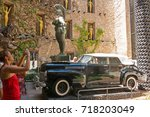 figueres  spain july 17  2017 ...   Shutterstock . vector #718203049
