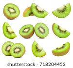 Kiwi Fruit Isolated On The...