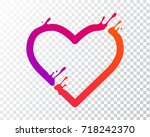 transparent   abstract icon... | Shutterstock .eps vector #718242370