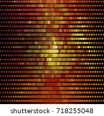 abstract halftone background.... | Shutterstock . vector #718255048