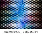 abstract halftone background.... | Shutterstock . vector #718255054