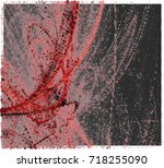 abstract halftone background.... | Shutterstock . vector #718255090