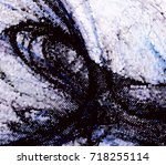 abstract halftone background.... | Shutterstock . vector #718255114
