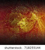 abstract halftone background.... | Shutterstock . vector #718255144