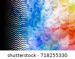 abstract halftone background.... | Shutterstock . vector #718255330