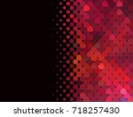 abstract halftone background.... | Shutterstock . vector #718257430