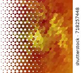 abstract halftone background.... | Shutterstock . vector #718257448