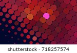 abstract halftone background.... | Shutterstock . vector #718257574