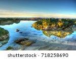 rocks on the beach   Shutterstock . vector #718258690
