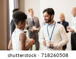 business  communication and...   Shutterstock . vector #718260508