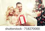 christmas  holidays  technology ... | Shutterstock . vector #718270000
