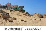aljezur beach in portugal     Shutterstock . vector #718273324