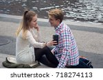 stockholm  sweden   april 23 ... | Shutterstock . vector #718274113