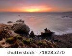 vila nova de milfontes  odemira ...   Shutterstock . vector #718285270