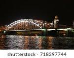 russia  st. petersburg ... | Shutterstock . vector #718297744