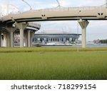road overpass | Shutterstock . vector #718299154