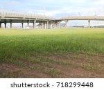 road overpass | Shutterstock . vector #718299448