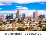 new orleans  louisiana  usa... | Shutterstock . vector #718303420