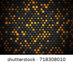 abstract industrial realistic... | Shutterstock .eps vector #718308010