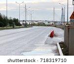 road | Shutterstock . vector #718319710