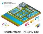 infographic concept storage... | Shutterstock .eps vector #718347130