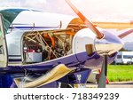 Turboprop Airplane Aircraft A...