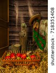 village | Shutterstock . vector #718351408